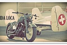 "Softail Harley ""B52"" by Vida Loca Choppers / Softail Harley B52 Designed by Vida Loca Choppers in 2011"