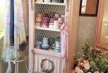 armário rosa
