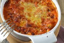 lasagne ricotta sce tomate courgette