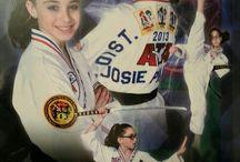 Tae Kwon Do / My daughter Jocelyn and Taekwondo / by Jody Marx-Prunier