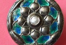 Buttons - Arts and Crafts, Cymric, Liberty