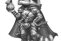 RPG Inspiration Raccoon Folk