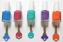 Ideas con laca de uñas