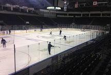 2014 T-Birds Hockey School / Hockey players between 6 and 15 years old come to the ShoWare Center for a week of skill development, hockey instruction, and dryland training. There is even a group for adults!