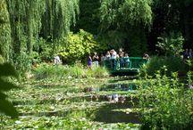 Jardins, p.ex. Giverny, Monet