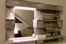 Paletten spiegel