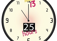 25 Hours In A Day / if adding an extra hour in the day will give me time to blog... then so be it. http://25hoursblog.com / by Cara Friedman