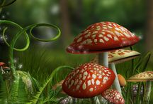 Fairy mushroom garden ideas