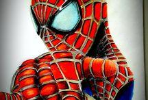 draiwing Spider man
