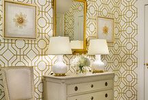 Patterns With Personality / Fabrics or textiles with pattern give a room personality.