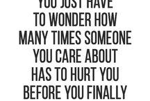 Bad love...