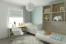 ♥ Nursery Ideas ♥ / Creative ideas to design a nursery room. #babies #boy #girl #infant #toddlers #kids