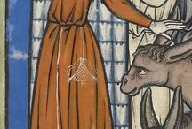 Medieval clothing woman