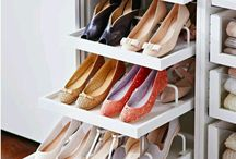Shoe and clothes storage