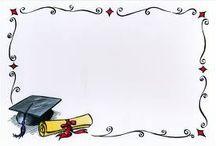 Dyplomy, zaproszenia/ Diploms, invitations