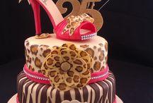 Animal Print Cake 6
