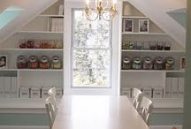 Inspiration- Craft Rooms