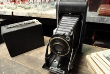Vintage Cameras / A curated collection of vintage cameras. / by Kimberly Jones
