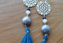 Bijoux / Créations fait main, sur mesure fabriquée en partie avec des perles recyclées