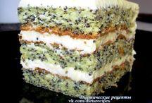 Диетические торты, десерты