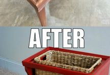 up cycling old furniture