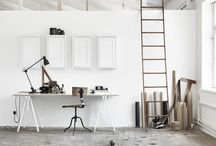 trestle room inspiration / by Plank and Trestle