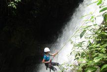 Abseiling / Waterfall Abseiling in Ulu Geruntum, Gopeng, Pearak, Malaysia