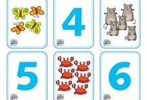 Matematik - tal og mængdekort