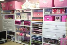 Craft Room Inspiration / Ideas for creating the perfect Craft Room