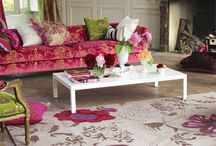 Bo-ho Chic / Eclectic fun with a mix of contemporary furniture and vintage pieces in a very romantic style mix. Lots of soft accessories and colour.