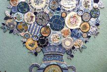 Mosaic/ pottery