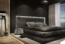 From sketch to realization / Hotel room interior, luxury hotel interior, luxury interior design, modern hotel furniture