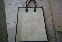 bag / material pandan