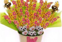 Chocolate Novelties Bouquets