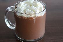 Cafés e Chocolate