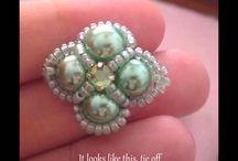 Sormukset: pearl rings 2
