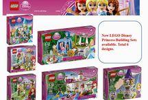 New LEGO Duplo Princess Sets