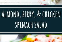 Healthy salads / Light,delicious and healthy salads for lunch