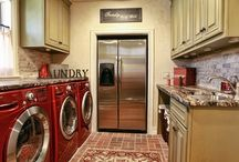 Laundry/Mud Rooms / Function spaces can also be beautiful! / by Linda