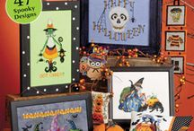 Halloween Stitchery & What Nots / Here's a board for all things Halloween and stitchery related!