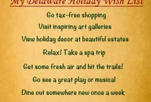 Winter in Delaware / Ideas for how things to do during the Winter season in Delaware!