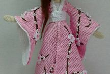 bambole cinesi in amigurumi