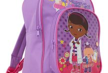 Doc McStuffins / All the official Doc McStuffins Products available at www.play-rooms.com  Doc McStuffins loves to fix broken toys in her backyard playhouse clinic with the help of her friends Hallie, Lambie, Chilly, and Stuffy. The broken toys come to life with the magic from her stethoscope. She and Lambie are best friends and are always there for each other.