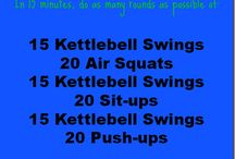 kettlebell / by Stacey Lea