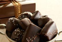 CHOCOLATE, CHOCOLATE AND MORE CHOCOLATE