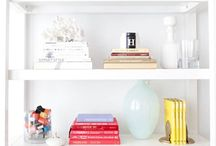 How to style your bookshelve