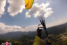 Paragliding tandemový let  na Straníku a Donovaloch / tadnemove lety - paragliding