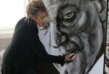 Saskia Vugts Portretschilder aan het werk. / #antoniobanderas #schilderij #portret #portrait #portretopdracht #olieverfportret #olieverfschilderij #portraitpainting #oilpainting #kunst #art #pastelart #portraitart #famouspeople #actor #actress# #drawing #painting #faces #closeup #portretten #olieverfportretten #oilportraits #galerie #design #modernart #hyperrealisme #realismportrait #realistischekunst #realismart #pastelportret #saskiavugts #staatsieportret #bekende #gezicht #olieverf #famous #koningshuis #maxima #willemalexander