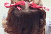 Little Girl's Curls