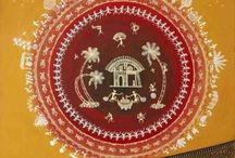 Warli Paintings / 'Warli' is a tribal art from villages of Maharashtra India. We have largest collection of warli paintings from indian artists on www.artbugs.in